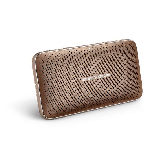 Harman Kardon Esquire Mini 2 - Brown - Ultra-slim and portable premium Bluetooth Speaker - Hero