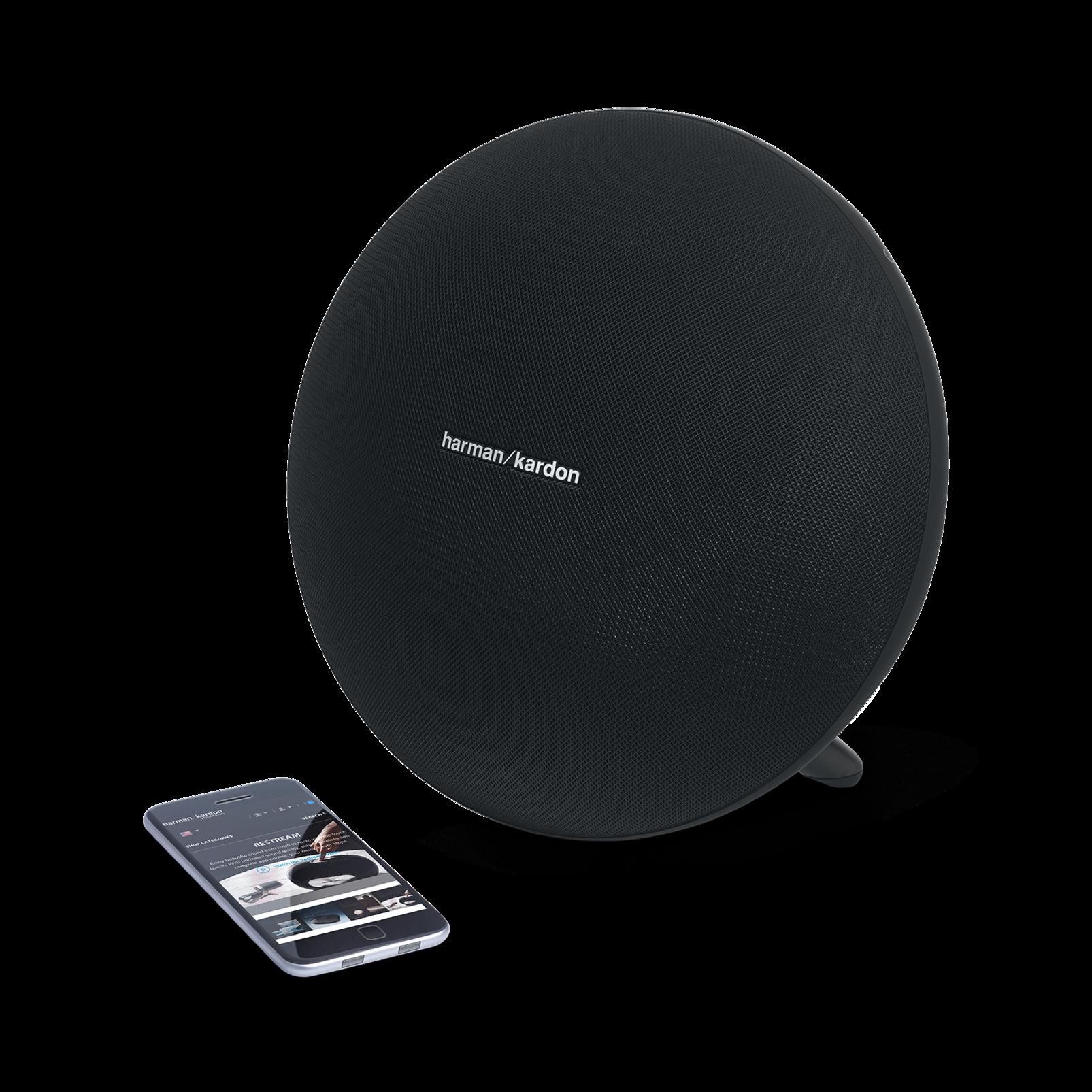 Onyx Studio 3 - Black - Portable Bluetooth Speaker - Detailshot 1