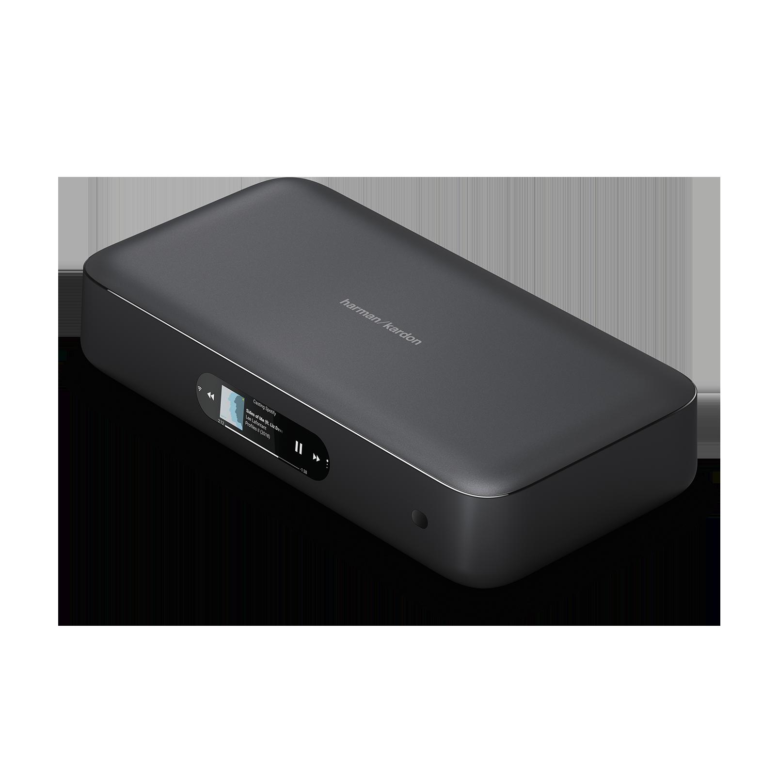 Harman Kardon Citation Adapt - Black - The compact wireless digital AV  adapter - Hero