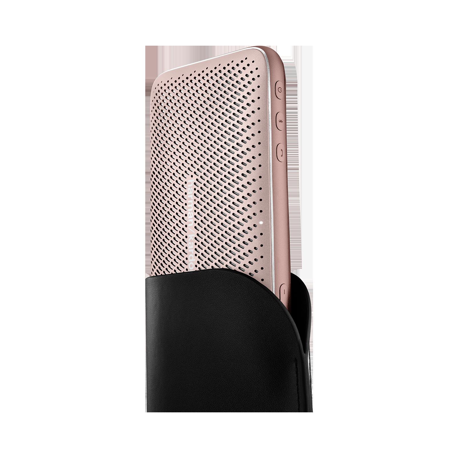 Harman Kardon Esquire Mini 2 - Gold - Ultra-slim and portable premium Bluetooth Speaker - Detailshot 1