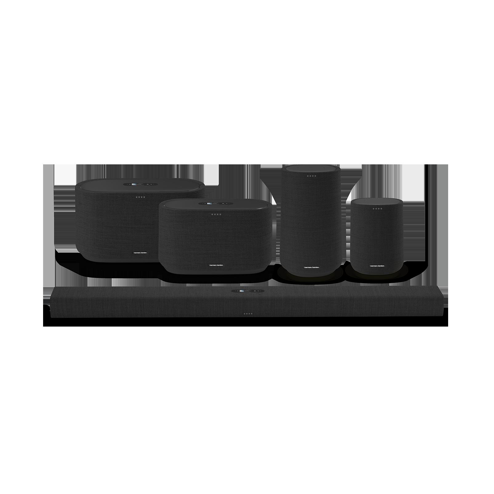 Harman Kardon Citation 100 - Black - The smallest, smartest home speaker with impactful sound - Detailshot 5
